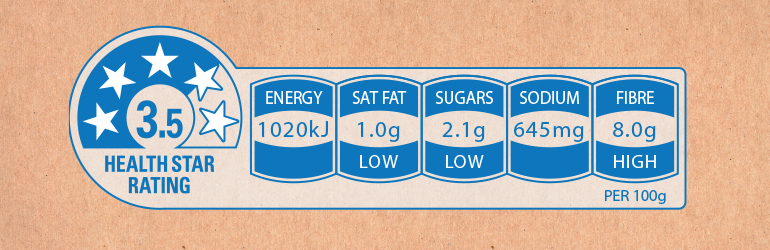 carousel-Health Star Ratings are voluntary and are starting to appear on the front of packaged foods.